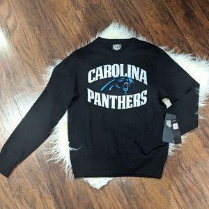 NWT Carolina Panthers Men's size Small Sweatshirt